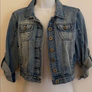 Highway Jeans Mid Rise Denim Jacket